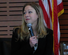Chelsea Clinton answers teens' questions at event