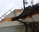 Church heavily damaged by tornado in Paron