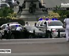 Police Surround Capitol Suspect, Guns Drawn