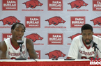 Michael Qualls and Rashad Madden - Clemson Postgame