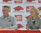 Jimmy Dykes introduces Christy Smith