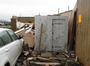 A safe room helped a Vilonia family escape Sunday's tornado without injury even as the home it was in was destroyed.