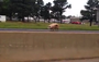 Trish Watts of Benton captured footage of the loose pig on Interstate 30 Thursday morning.