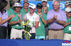 Stacy Lewis - NW Arkansas Championship Awards Ceremony