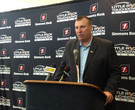 Bielema speaks before LR Touchdown Club speech