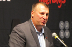 VIDEO: Bret Bielema speaks to LR Touchdown Club