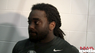 Alex Collins - Wednesday Post Practice