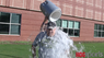 Bob Holt accepts the ALS Ice Bucket Challenge