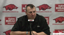 Arkansas head coach Bret Bielema previews the Razorbacks' upcoming game against No. 6 Auburn.