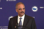 U.S. Attorney General Eric Holder spoke to the U.S. Conference of Mayors during a meeting in Little Rock.