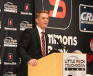 ASU coach Anderson addresses LR Touchdown Club