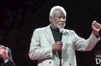 Nolan Richardson honored at halftime