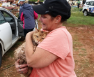 Cat missing in storm damage reunited with family