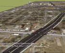 Proposed 10 Lane Corridor for I-30 in Little Rock