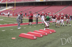 Sights and Sounds - Arkansas Spring Practice No. 11