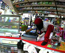 Jacksonville gas station burglary surveillance video