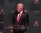 Bill Clinton speaks at Jefferson-Jackson Dinner