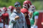 Dan Enos on backup QB job, OL competition + more