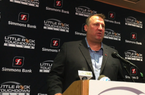 Bret Bielema talks senior leaders, first AP poll