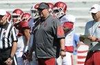 Bret Bielema updates on practice, Louisiana Tech prep