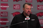 Bret Bielema previews Arkansas' game against Missouri