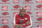 Mike Anderson previews Arkansas' game against Minnesota