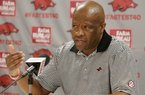 Mike Anderson previews Arkansas' home matchup with Mount St. Mary's
