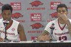 Daryl Macon and Dustin Thomas recap Arkansas' 89-76 win over Mount St. Mary's