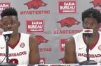 Adrio Bailey and Jaylen Barford recap Arkansas' 99-62 win over Austin Peay