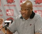 Mike Anderson previews Houston matchup