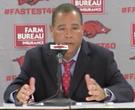 Kelvin Sampson recaps Arkansas' 84-72 win over Houston