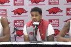 Moses Kingsley, Anton Beard and Daryl Macon recap Arkansas' win over Sam Houston State