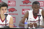Dusty Hannahs and Moses Kingsley recap Mississippi State's 84-78 win over Arkansas