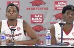 Daryl Macon and Jaylen Barford recap Arkansas' 92-73 win over Missouri