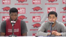 Anton Beard and Trey Thompson preview upcoming game at Texas A&M