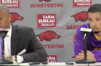 Johnny Jones and Skylar Mays recap Arkansas' 99-86 win over LSU