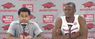 Moses Kingsley and Anton Beard recap Arkansas' 99-86 win over LSU