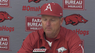 Dave Van Horn recaps Arkansas' 11-8 win over Bryant in Game 1