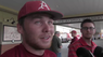 Jake Arledge on batting leadoff, the week's upcoming series and whether he's surprised by the HRs