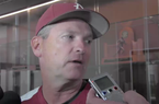 Dave Van Horn on hoping to ID a Sunday starter, batting Chad Spanberger second and more
