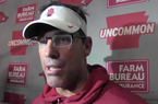 Dan Enos on last week's scrimmage, the backup QB race, areas for Austin Allen to improve and more