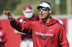 Dan Enos on Austin Allen's scrimmage and new receivers