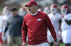 Paul Rhoads discusses defense and toughness in Saturday's scrimmage