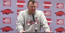 Bret Bielema recaps Arkansas' loss to Texas A&M