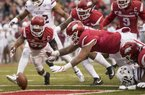 Kevin Richardson on playing his last game as a Razorback