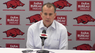 Troy coach Phil Cunningham recaps loss to Arkansas