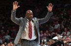 Mike Anderson previews Saturday's game with Vanderbilt