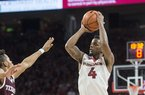 Daryl Macon and Jaylen Barford preview Kentucky game