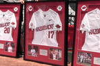 Carson Shaddy, Luke Bonfield and Jared Gates honored on Senior Day