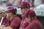South Carolina coach Mark Kingston and players recap win over Arkansas